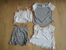 Lot of 4 Sz S Hollister and Abercromie Summer Tanks & Tees (4)
