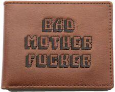 Genuine Pulp Fiction BAD MOTHER F*CKER Wallet | Coin Pocket | Genuine Leather