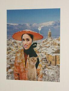 Original Collage 'The People's Princess' by Joyce & Vicky