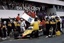 Alain Prost Renault RE40 Winner French Grand Prix 1983 Photograph 1