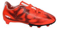 free shipping 24e30 1a2dc Adidas - F10 Firm Ground Scarpe da Calcio per Bambini e Ragazzi Rosso