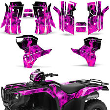 Graphic Kit Honda Foreman 500 ATV Quad Decals Stickers Wrap 2015 2016 ICE PINK