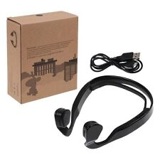 Bone Conduction Wireless Bluetooth Stereo Headset Headphone Earphone with Mic