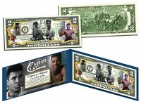 MUHAMMAD ALI * Cassius Clay * Legal Tender U.S. $2 Bill * OFFICIALLY LICENSED *