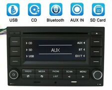Car Radio CD Player USB MP3 AUX Bluetooth For VW Golf Jetta Polo Electronics