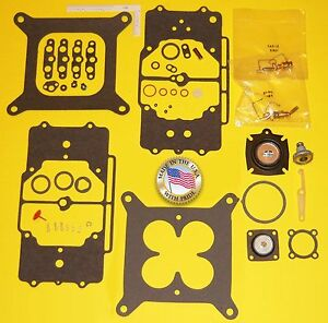 FORD MERCURY MASTER  CARB KIT AUTOLITE 4100 4 BBL SHOEBOX CARBURETOR MOTORCRAFT