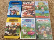 Kids DVD Bundle Brum Balamory Roary Horrid Henry Peppa Pig Sylvanian Family's