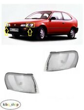 FOR TOYOTA COROLLA E10 1992 - 1998 NEW FRONT PARKING LIGHT LAMPS LEFT + RIGHT