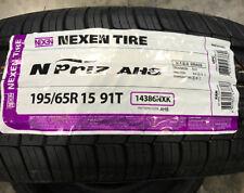 4 New 195 65 15 Nexen N'Priz AH8 Tires