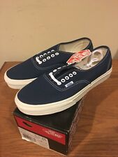 Vans Authentic Vintage Dark Denim Size 8.5 New