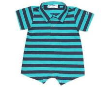 Oshkosh B'gosh Stripes Romper w/ Collar (RWC-04) Infant/Baby Boy Clothes, 24 mos