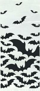 Black Bats Plastic Party Cello Bags x 20