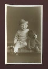Gloucester Glos BRISTOL Boy & Teddy c1950/60s? photo by Laurence Studio