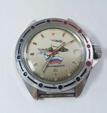 Russian USSR Wrist Watch VOSTOK Komandirskie Army Rare AMPHIBIAN!