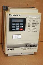 EATON DYNAMATIC AF-150102-0240 AF1500 ADJUSTABLE FREQUENCY AC DRIVE