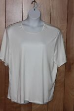 WOMEN'S KATHIE LEE WOMAN SHORT SLEEVE KNIT TOP-SIZE: 22W/24W