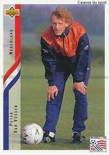 N°148 PETER VAN VOSSEN NETHERLANDS TRADING CARDS UPPER DECK WORLD CUP USA 1994