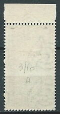 1951 TRIESTE A ALBERI 10 LIRE FILIGRANA LETTERA MNH ** - FL03