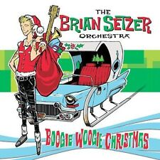 Brian Setzer Orchestra Christmas New CD Boogie Woogie Extra Tracks Factory Seal