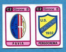 CALCIATORI PANINI 1983-84 Figurina-Sticker n. 565 -PAVIA#PERGOCREMA SCUDETTO-New