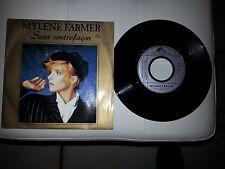 45 tours  de  MYLENE  FARMER