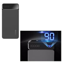 Power Bank 10000mAh Charger Dual USB + Type-C Output 3A External Battery / BK