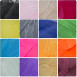 Dress Net Tutu Mesh Fabric Tulle Fancy Fairy Bridal Nylon Material FLARE FREE