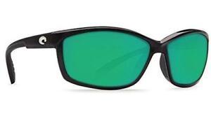 Costa del Mar Manta 580G Polarized Sunglasses Black/Green Mirror Glass Men/Women