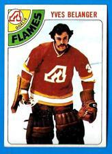 1978-79 Topps YVES BELANGER (ex-mt) Atlanta Flames