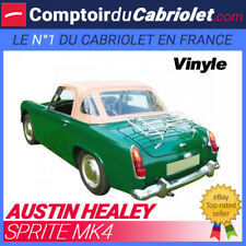 Capote Austin Healey Sprite MK4 cabriolet - Toile vinyle (1970/1971)