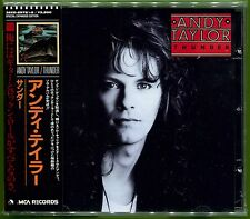 Andy Taylor THUNDER Japan 17-trk CD w/OBI & 8-page Booklet Sex Pistols DURAN AOR