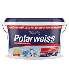 Schöner Wohnen Polarweiss matt Innenfarbe Wandfarbe Deckenfarbe 5 L