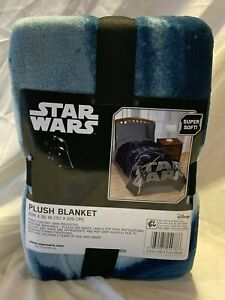 New Star Wars Darth Vader Plush Blanket 62in x 90in