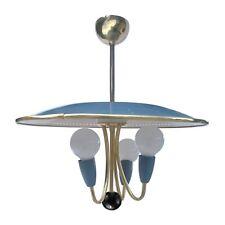 Vintage Lampe Retro 60er-Jahre Pastell Hängelampe