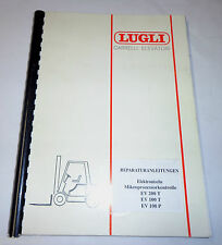Werkstatthandbuch Lugli Elektronische Mikroprozessorkontrolle EV 100 P / T, 200T
