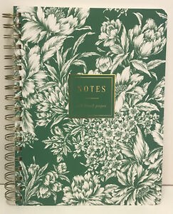 Fringe Studio ATELIER GREEN Spiral Notebook 192 Lined Pages -  New