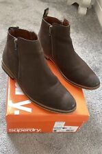 Superdry Boots  Mens Zip Up Chelsea Boot Size 8
