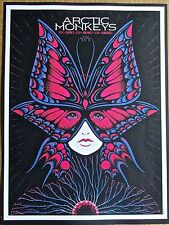 Arctic Monkeys  Mini-Concert Poster Reprint for 2014 The Woodlands TX Gig 14x10