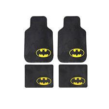 New 4pcs Batman The Dark Knight Logo Car Truck Rubber Floor Mats Front & Rear