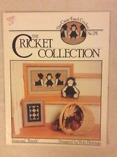The Cricket Collection Cross Stitch - Jonas And Friends - Quilt - New Chart #24