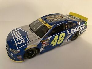 JIMMIE JOHNSON 2016 #48 Lowe's 7X Champion Chevy SS 1:24 scale Lionel Action