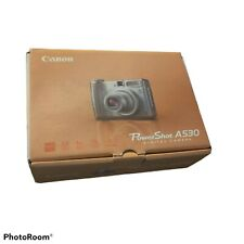 Canon PowerShot A530 5MP Digital Camera with 4x Optical Zoom - Silver