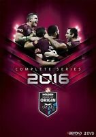 State Of Origin 2016 Complete Series (DVD, 2016, 2-Disc Set) Region 4