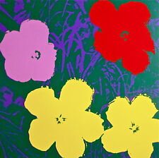 Flowers #65 (Sunday B. Morning), Silkscreen, Andy Warhol - with COA