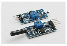 2pc high sensitive temperature and vibration sensors Detector Module LM393 heat