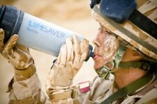 Brexit Survival LIFESAVER water purifier bottle. *Genuine British Army Supply*