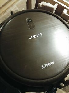 Ecovacs Deebot n79s Robot Vacuum w/New Battery & Accessories