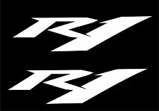 2x Yamaha YZF R1 Motorcycle Decals any colour