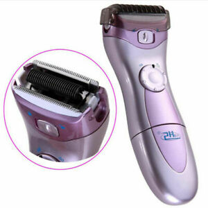 Electric Ladies Shaver Women Hair Remover Legs Underarm Body Face Trimmer