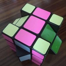 WitEden New Oskar 3x3x3 Mixup Speed Cube Magic Puzzle Black Educational Toys